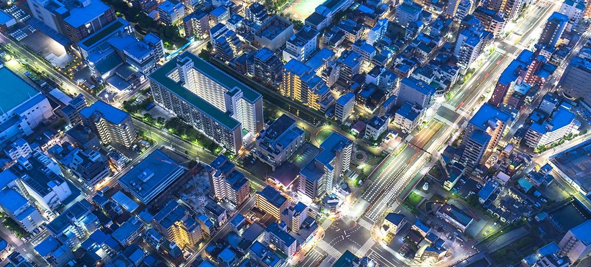 BRAND_Aerial_Blue City_4 Tips S4HANA Move_Blog header image